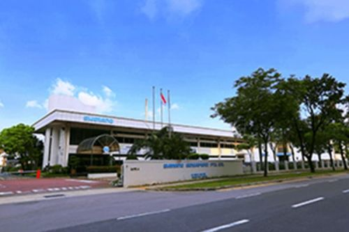 Shimano's Singapore offices.