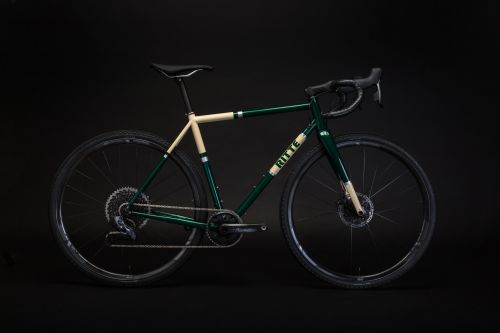 The Ritte Satyr gravel bike features size-specific Reyonolds tubing.