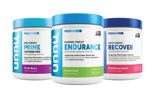 Nuun launched its newest product suite, The Podium Series.