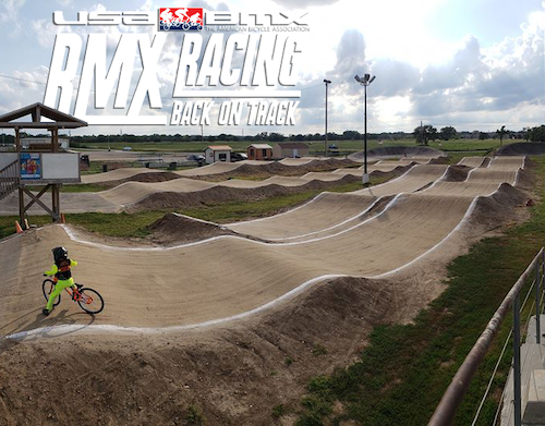 USA BMX tracks are gradually reopening in the US.