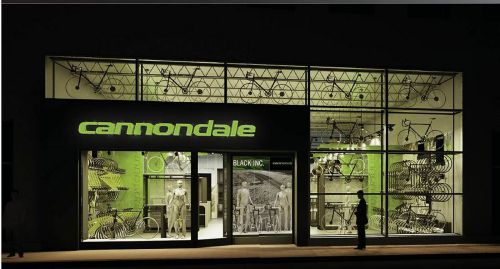 SO 2013: Cannondale experimented with concept stores years ago.