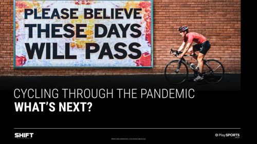 The front cover of Cycling Through the Pandemic: What's Next?
