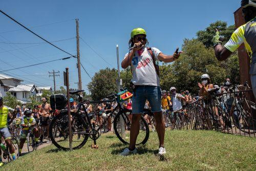 Black History Bike Ride was created by Talib Abdullahi.
