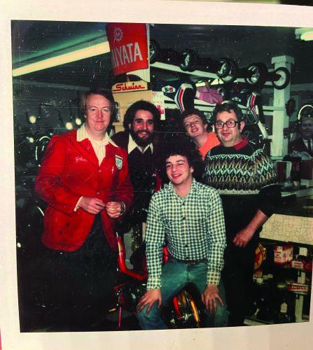 The Bennett's crew circa 1980. (ID's below)