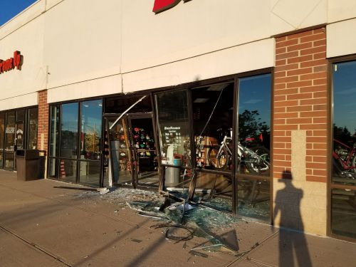 BikeSource had three bikes stolen on July 30 in an early morning burglary.