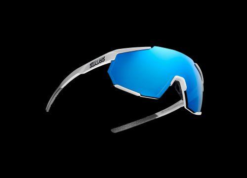 100%'s Racetrap sunglasses.