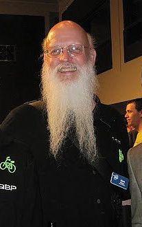 Moore at the 2012 LAB Bike Summit.