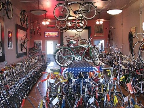 The Blue Moon bike museum.