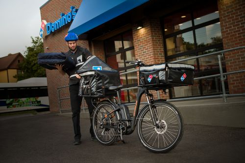 Rad Power Bikes will provide an e-bike fleet to Domino's.