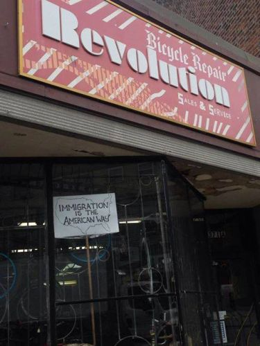 Revolution Bicycle Repair (from the store's Facebook page).