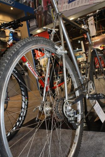 Tom Ritchey welded up this 650B in 1980.