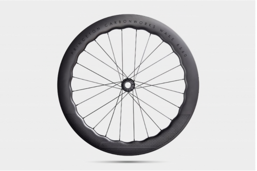 A photo of a Princeton Carbon Wheelworks wheel from the SRAM complaint.