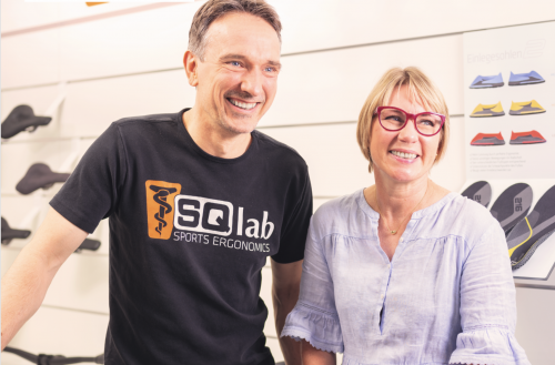 Tobias and Annette Hild. SQLab photo.