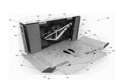 An image from Trek's patent application.
