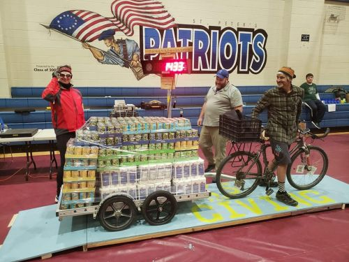 Cranksgiving featured 112 food drives this year.
