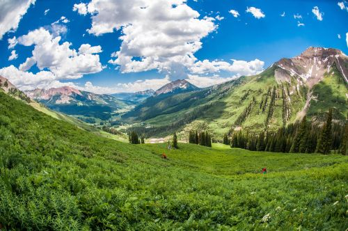 Photo from Crested Butte's 401 Trail by Trent Bona.