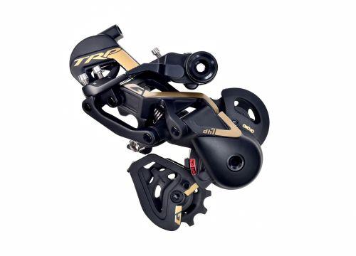 The DH7 Derailleur features a locking B-knuckle at the hanger called the Hall Lock.