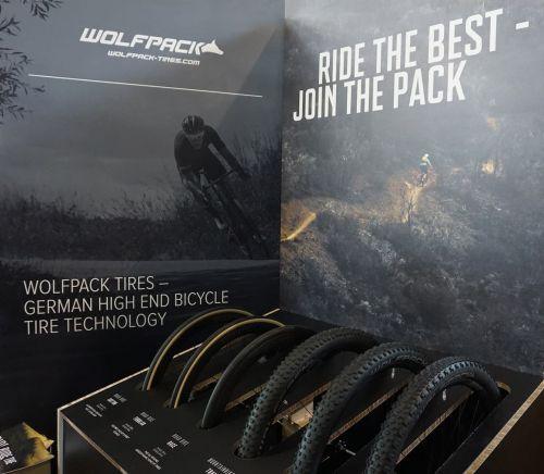 Wolfpack's Eurobike display.