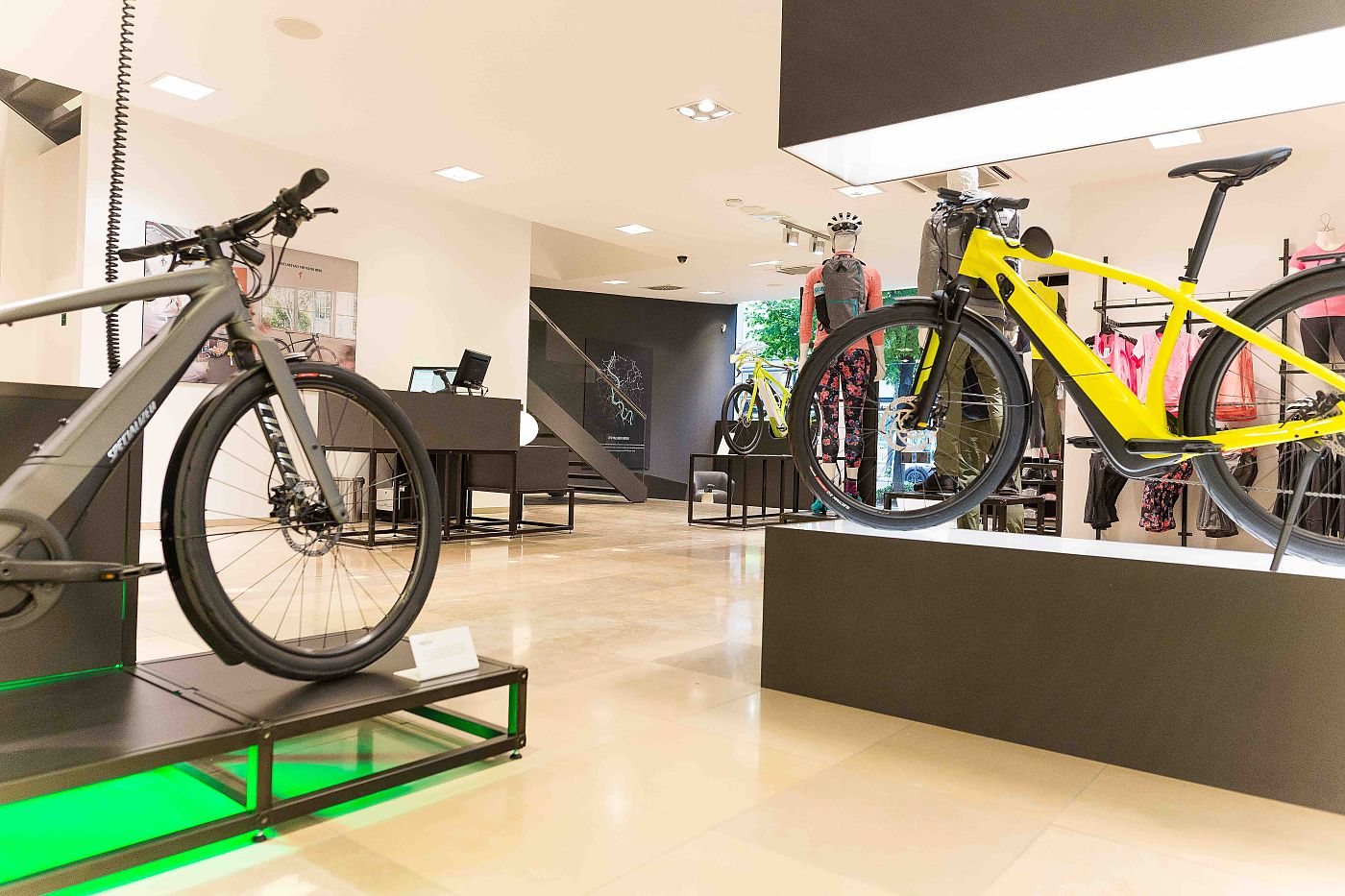 the popup showcases turbo pedalassist line as well as a