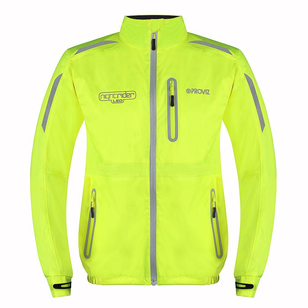 ProViz Nightrider LED Cycling Jacket Has Integrated