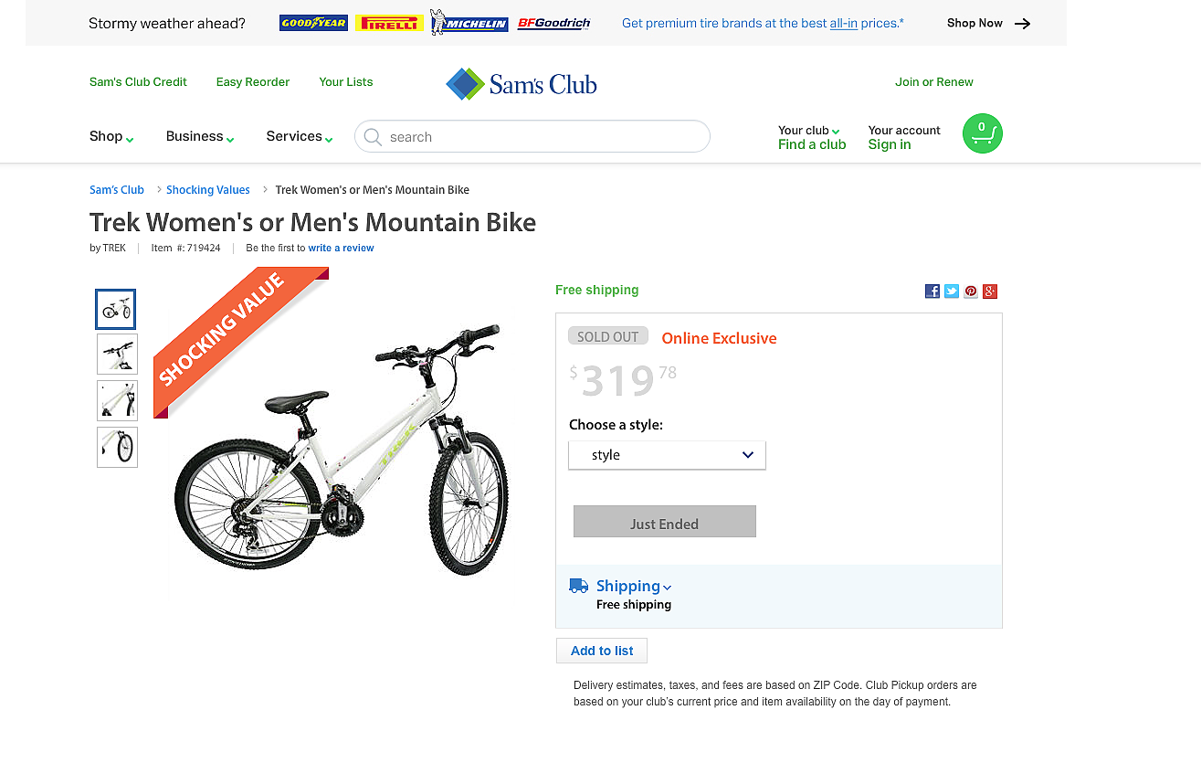 Trek investigating how Sam's Club got its bikes | Bicycle Retailer