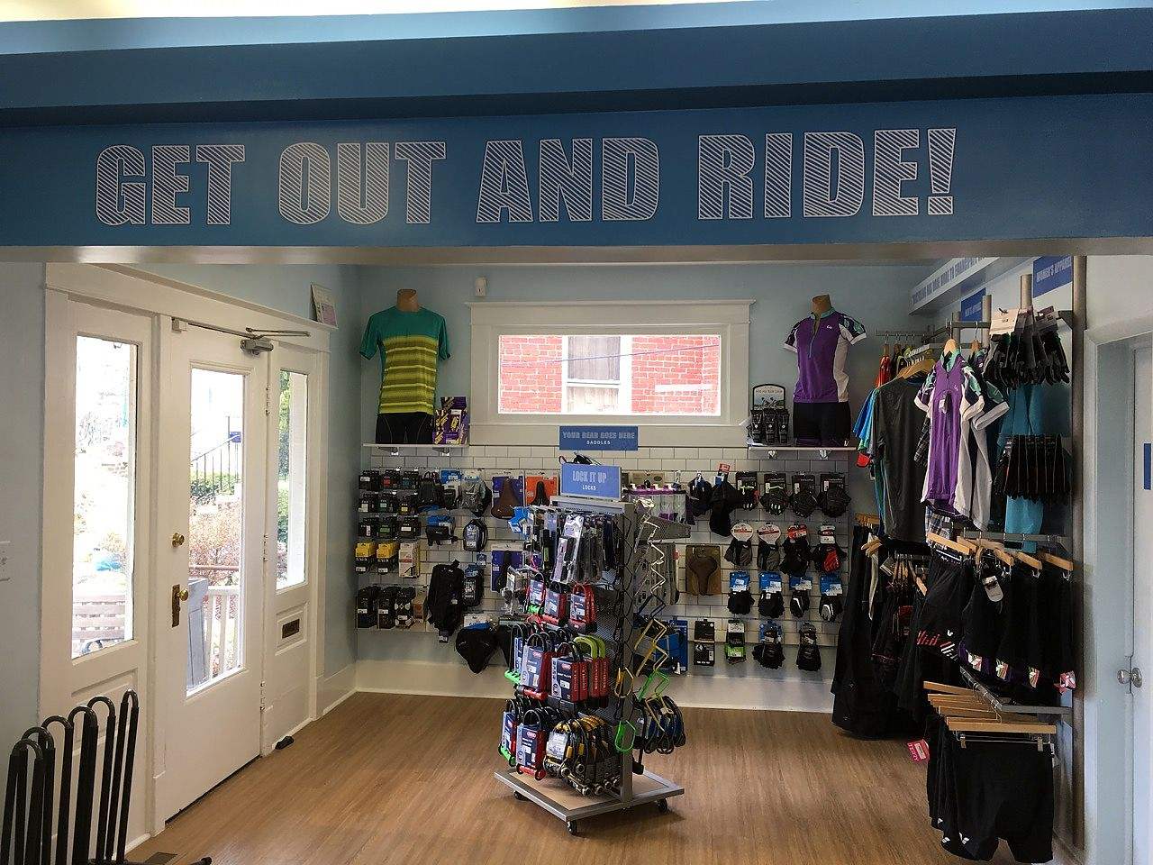 TAKOMA PARK, Md. (BRAIN) U2014 Industry Veteran Bruce Sawtelle Recently  Completed A Full Remodel Of His D.C. Area Store, Takoma Bicycle, With Retail  Design Firm ...