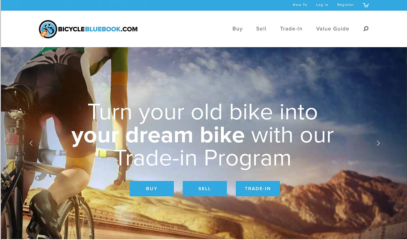 Bicycle Blue Book Value >> Bicyclebluebook Redesigns Website To Funnel Traffic Toward
