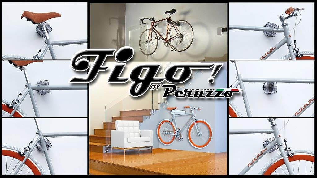 Set of 4 FIGO Cool Bike Rack by Peruzzo