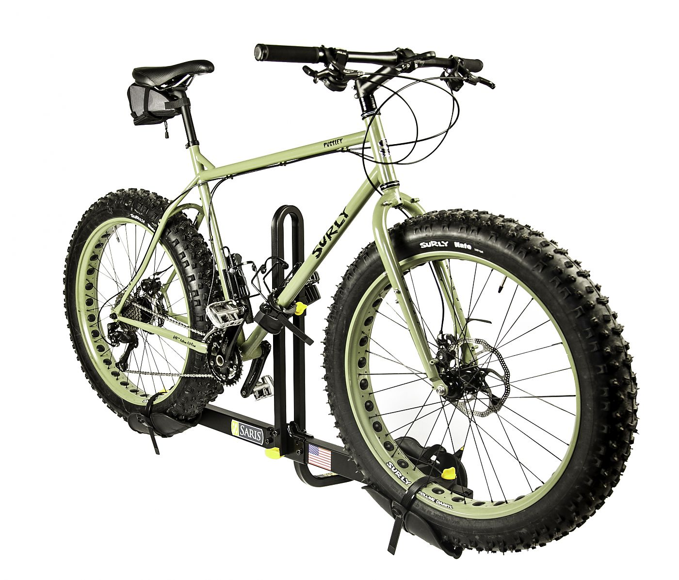 Saris offers fat-tire trays for its Freedom racks ...