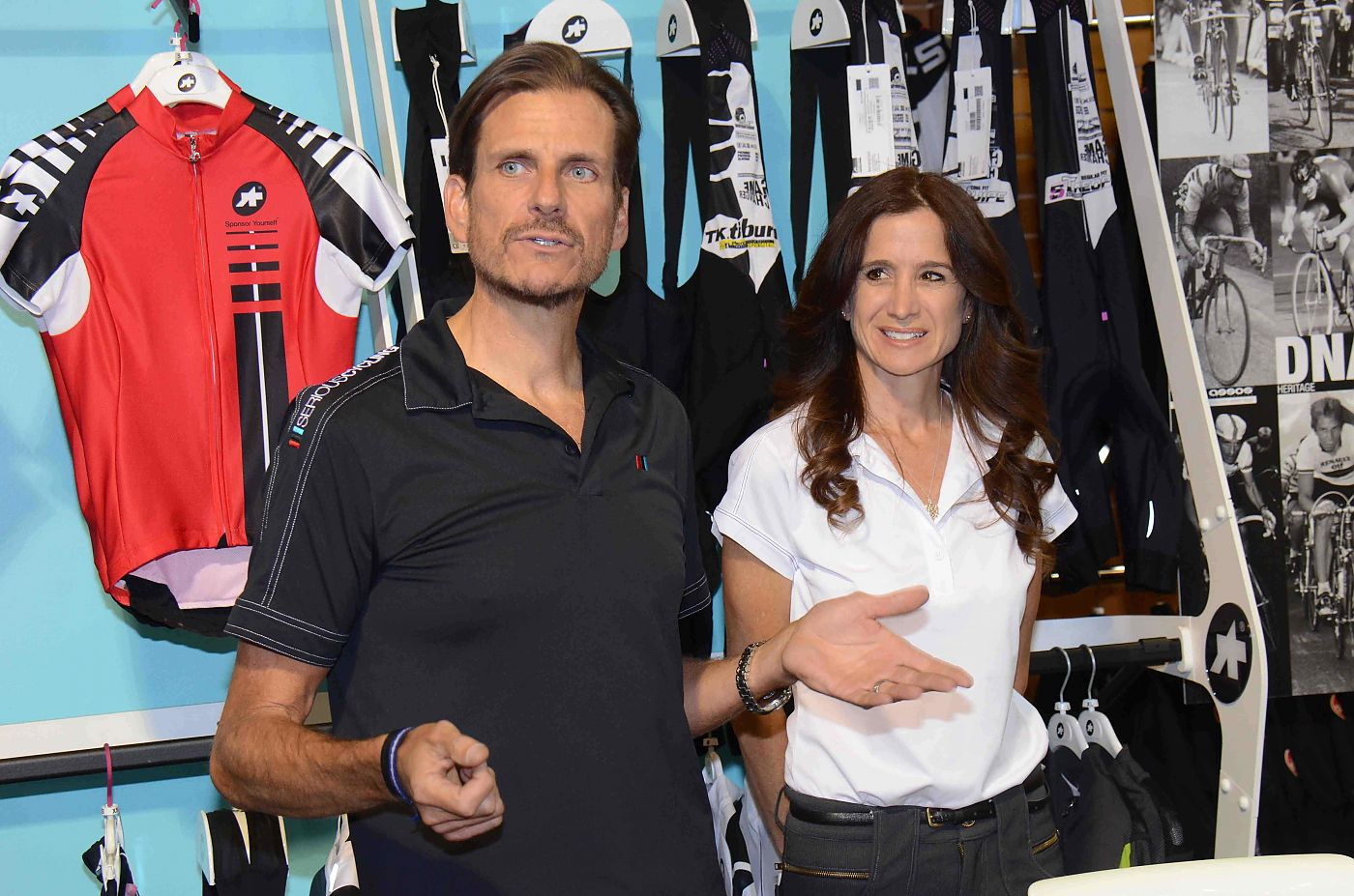 Serious cycling owners scott and jennifer johnson are passionate about