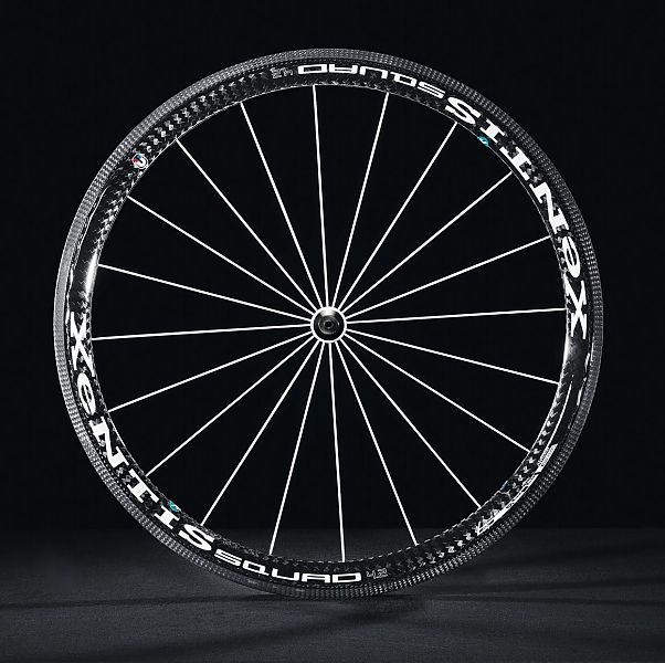 Photo: The full range includes road and mountain bike wheels, with rim depths from 25 to 75 mmm..