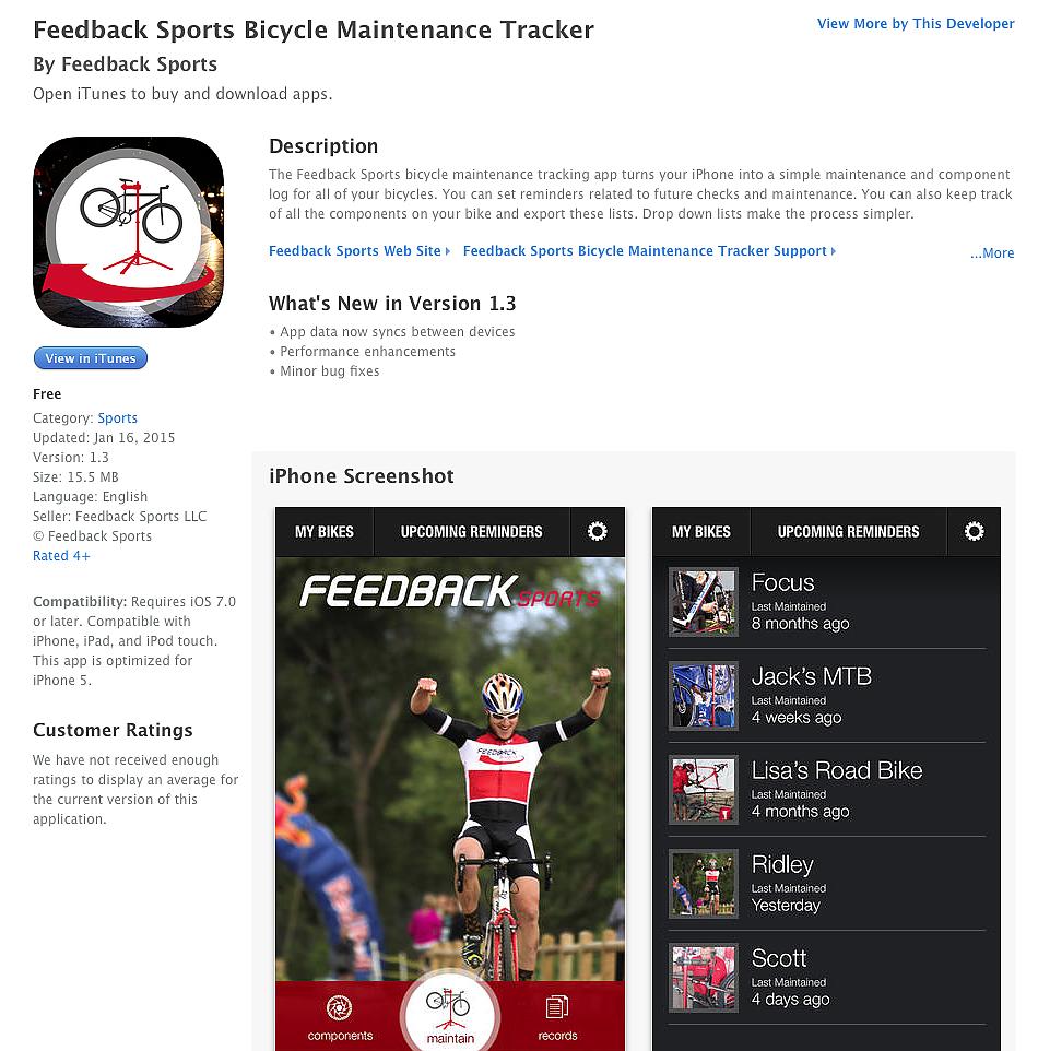 New site uses Strava data to track bike part service