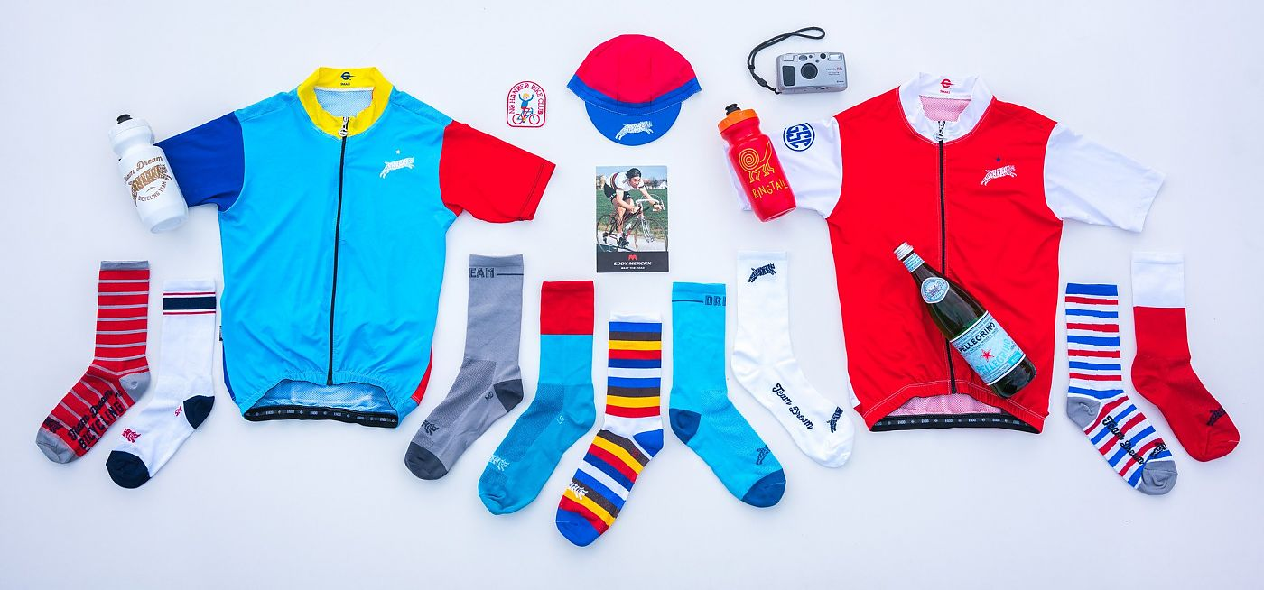 7dde3577a Team Dream Bicycling Team launches limited release cycling apparel and  accessories a few times a year