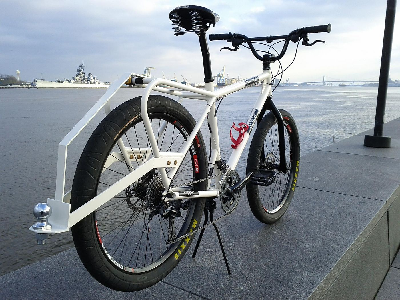 Bike Trailer Hitch Rack. New Company Offers Custom Cargo Bikes Bicycle Retailer . 5 Bike Steel ...