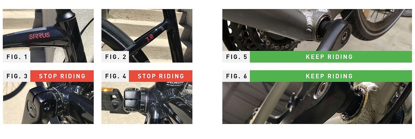 Specialized issues safety notice on some Sirrus models because of ...