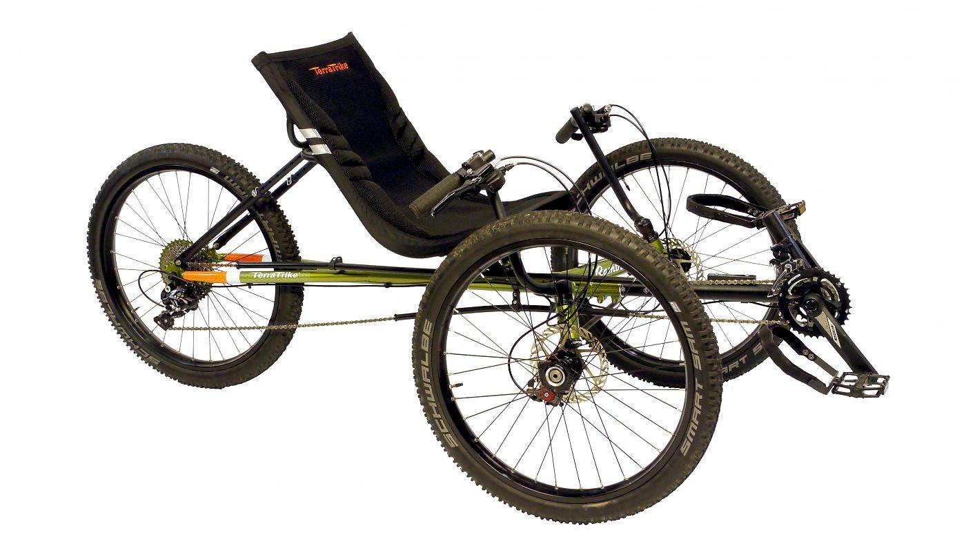 Terratrike Unveils New All Terrain Recumbent Trike Bicycle