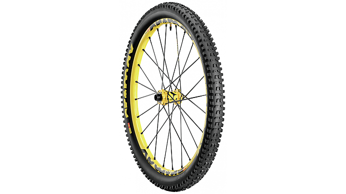 The Crossmax Enduro WTS wheel/tire combo