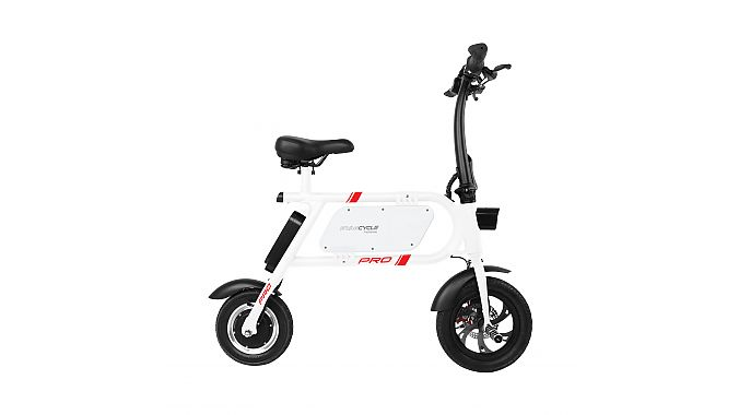 The Swagcycle Pro is an electric scooter bike.