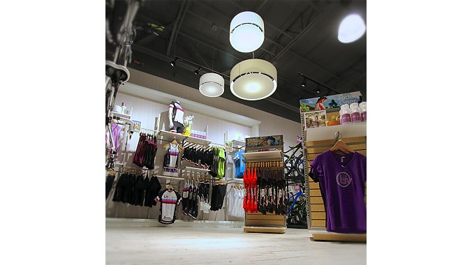 The 5,000-square-foot retailer includes a store-within-a-store dedicated to the Liv/Giant women's brand.