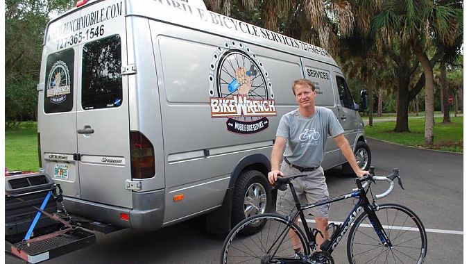 John Johnson, owner of Florida's Bike Wrench.