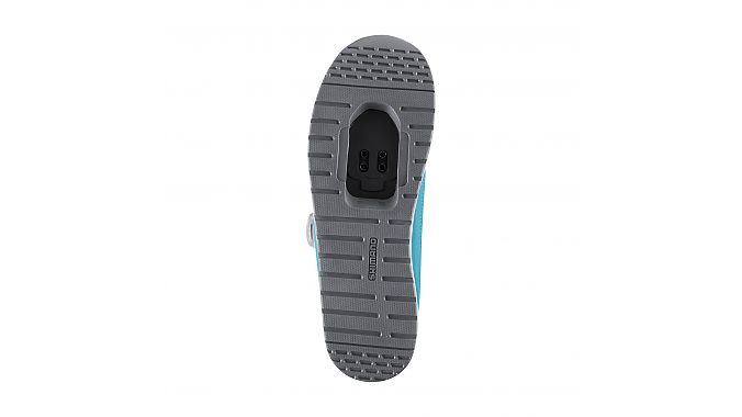 The outsole of the Shimano IC3.