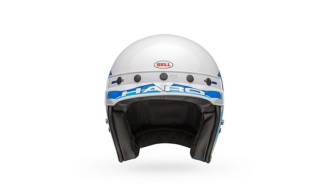 Bell Helmets' Bob Haro Design model pays homage to the BMX icon.