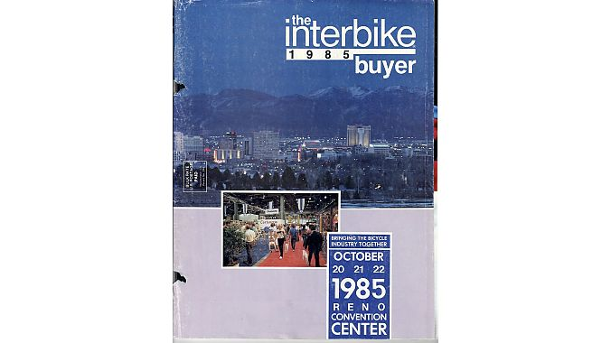 Interbike was held in Reno in the mid-1980s.