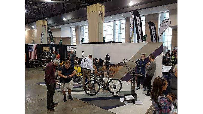 The new bikes were shown at No. 22's booth at the Philly Bike Expo.