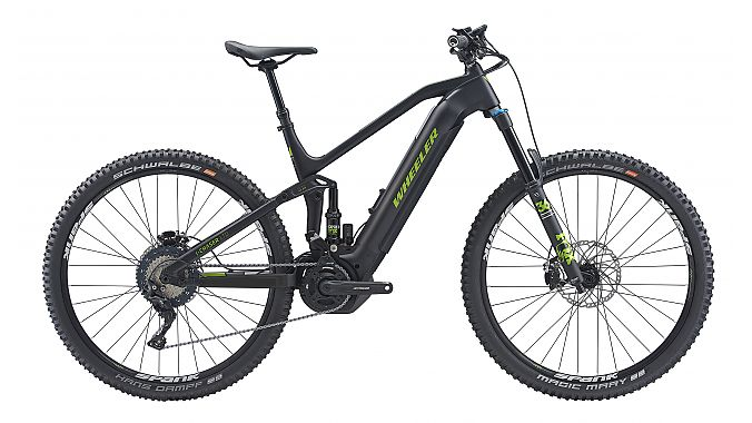 Gold Medal Award: Wheeler Industrial's i-Chaster Ltd e-MTB.
