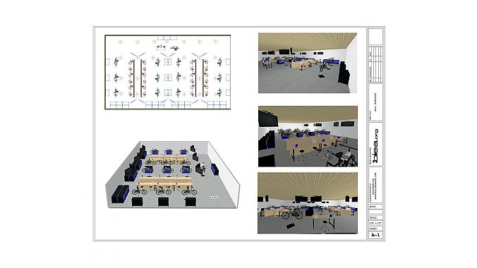 Plans for the C-TEC facility.