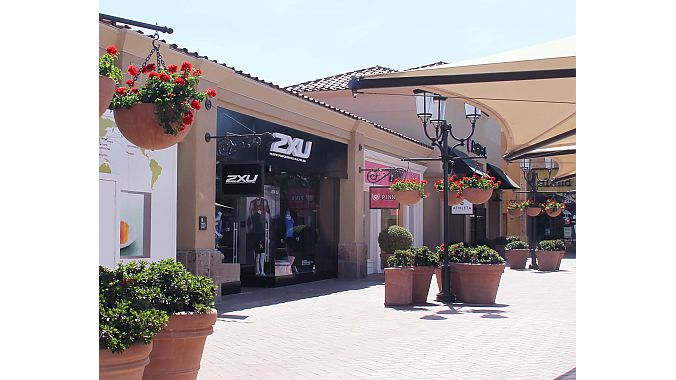 2XU's second retail store in the U.S. opened recently in Orange County.