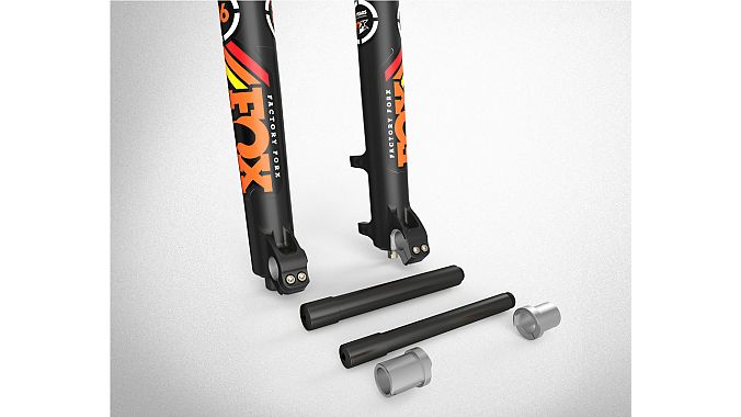 The 36 RC2 has a new convertible axle system that works with both 15- and 20-millimeter axles