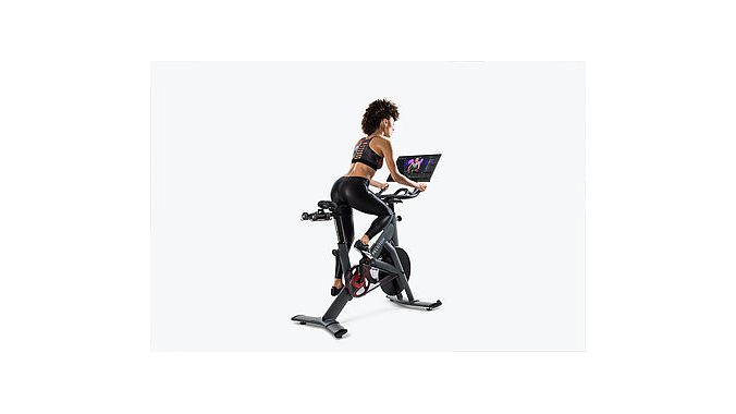 The new Peloton studio bike.