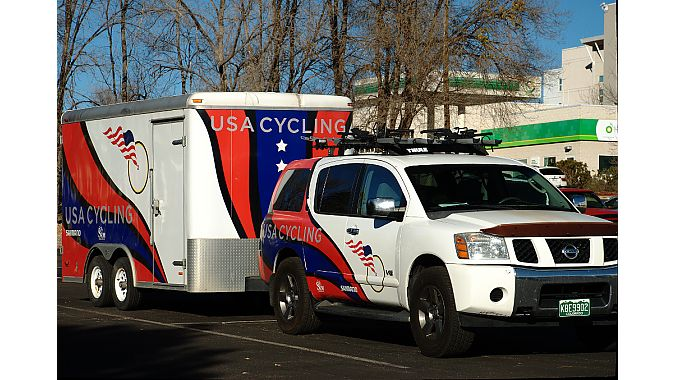 The USAC's support vehicle.